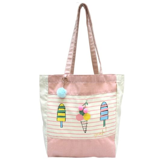 Sherbet Ice Cream Shopper Bag