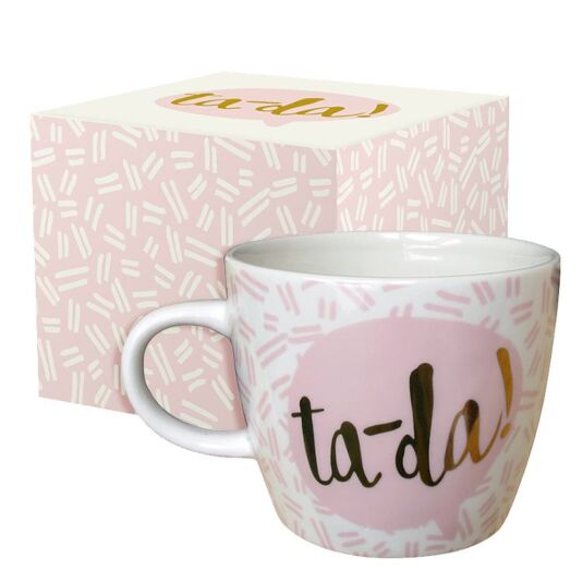Yoo Hoo 'Tada' Boxed Mug