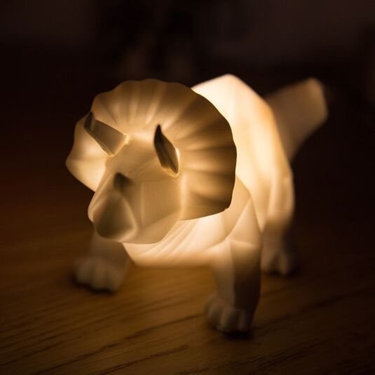 Origami Led Designs Disaster White Light Small Dinosaur Hiy29wed QdCBerxoW