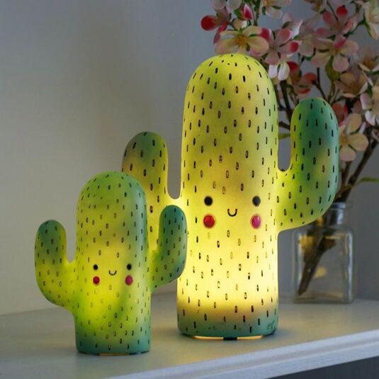 Disaster Designs Hi-Kawaii Small LED Cactus Lamp | Temptation Gifts