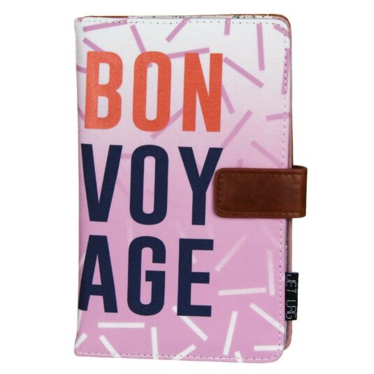 Jet Lag 'Bon Voyage' Travel Wallet