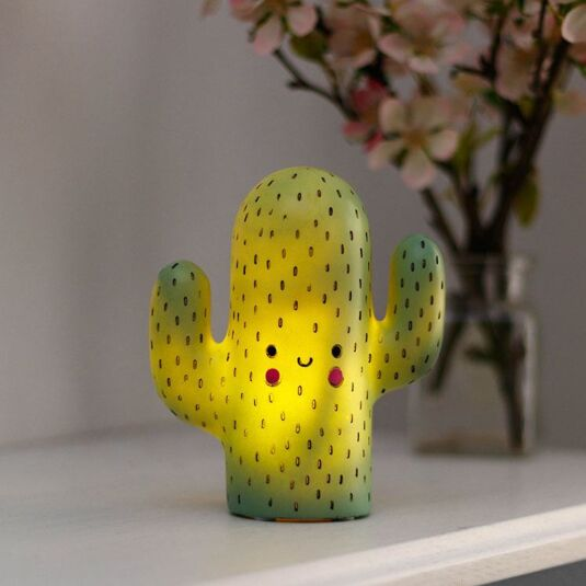 Hi-Kawaii Small LED Cactus Lamp