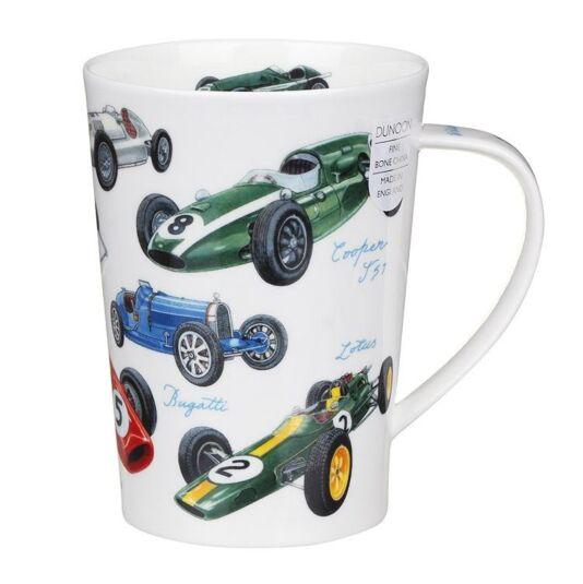 Motorsports F1 Argyll Shape Mug
