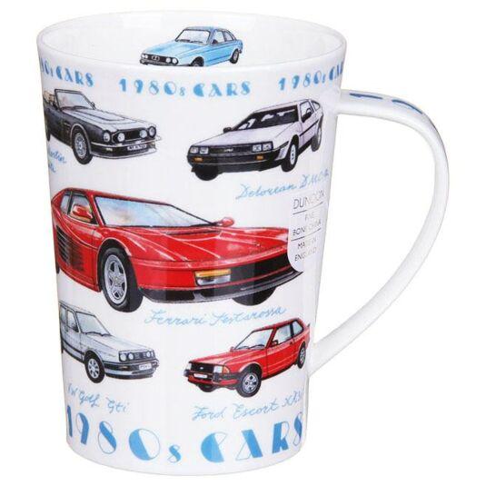 Classic Cars 1980s Argyll Shape Mug