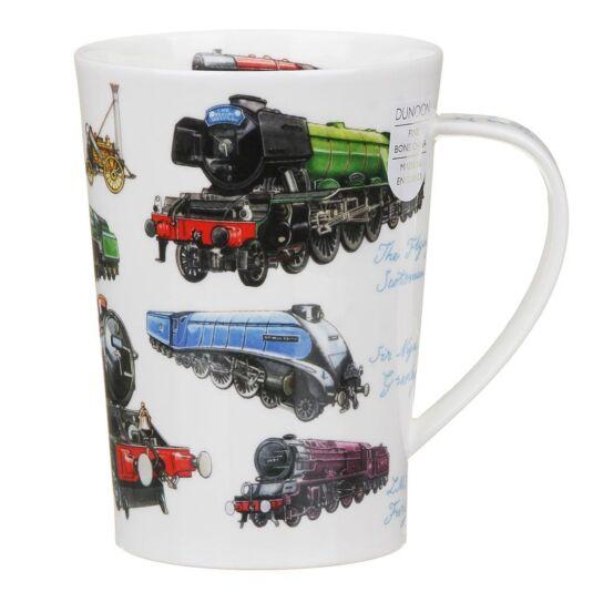 Classic Trains Argyll Shape Mug