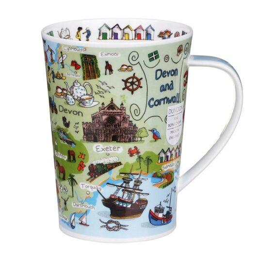 Devon & Cornwall Argyll Shape Mug