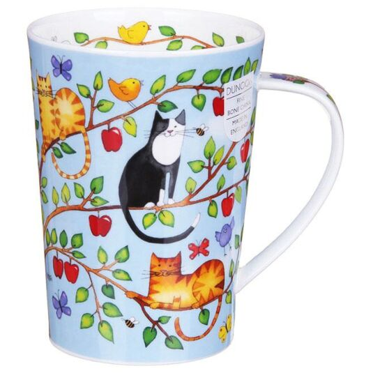 Family Tree Apple Argyll Shape Mug
