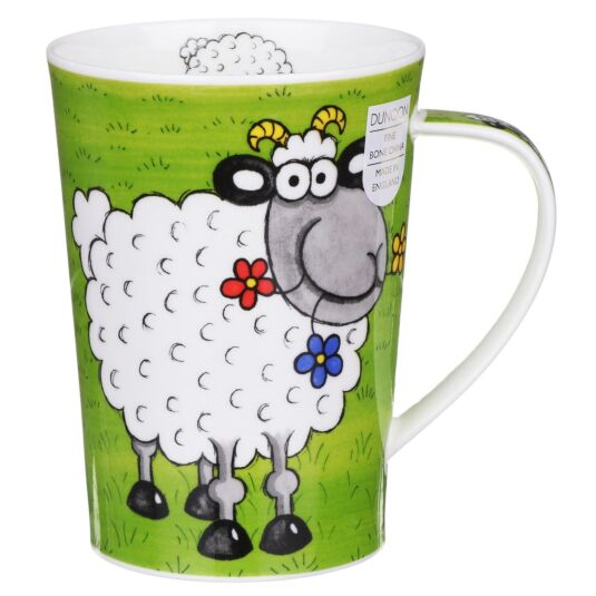 Funny Farm Sheep Argyll Shape Mug