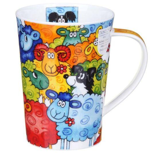 Hide and Seek Sheep Argyll Shape Mug