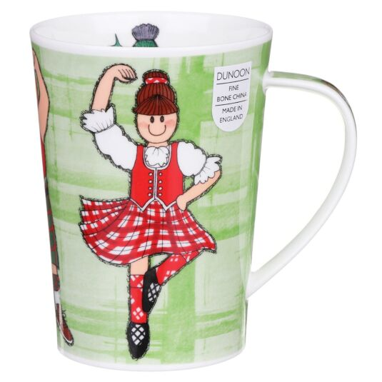 Highland Games Argyll Shape Mug