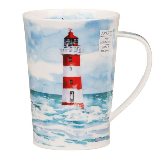 Solitude Red Argyll Shape Mug