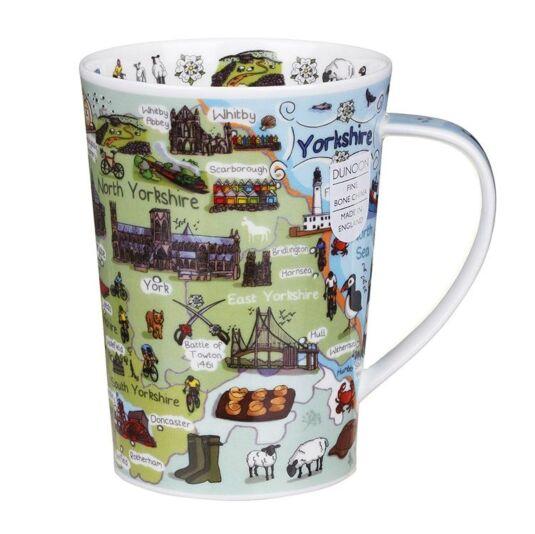 Yorkshire Argyll Shape Mug