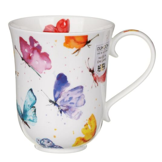 Flight Of Fancy Butterfly Braemar Shape Mug