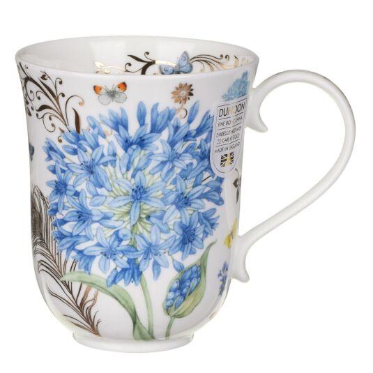 Vintage Blue Braemar Shape Mug