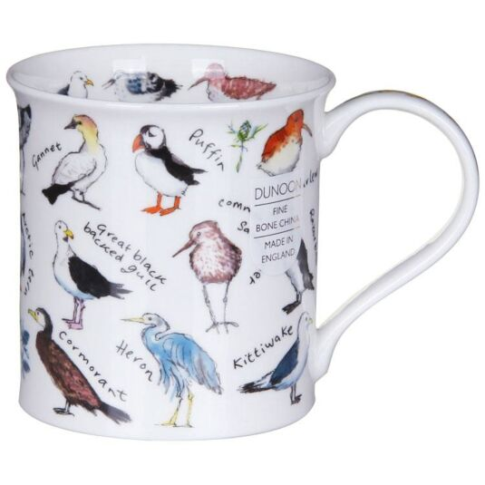 Birdlife Coastal Birds Bute Shape Mug