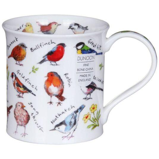 Birdlife Garden Birds Bute Shape Mug