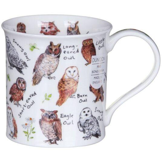 Birdlife Owls Bute Shape Mug