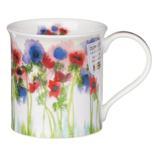 Floral Haze Anemone Bute Shape Mug