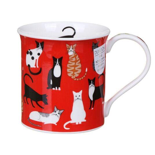 On Parade Cats Bute Shape Mug