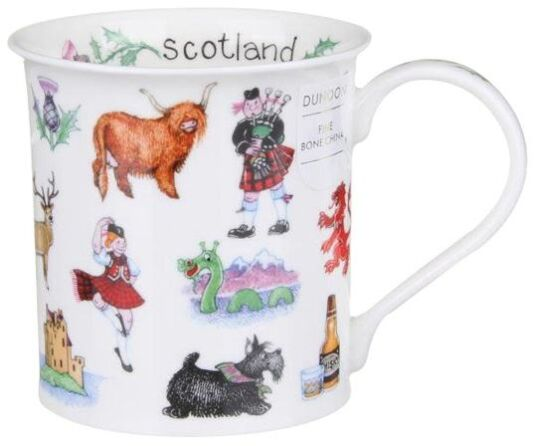 Scotland Galore Bute shape Mug