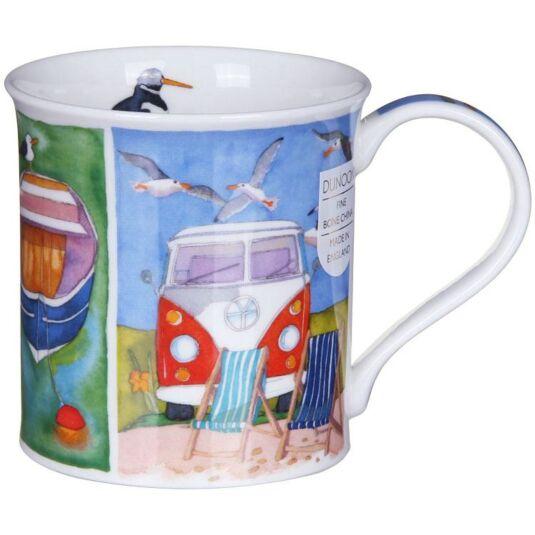 Sunny Cove Campervan Bute Shape Mug