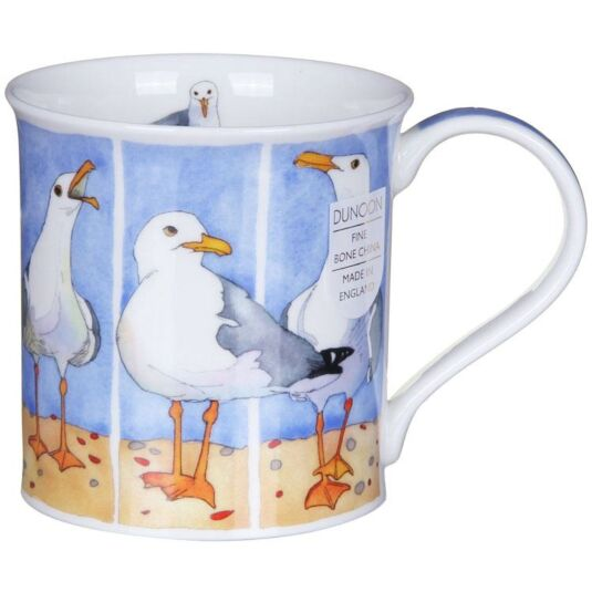 Shore Birds Seagull Bute Shape Mug