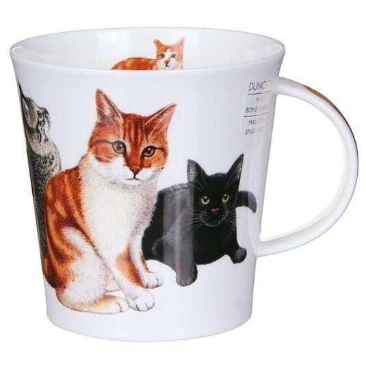 Cats & Kittens Ginger Cairngorm Shape Mug