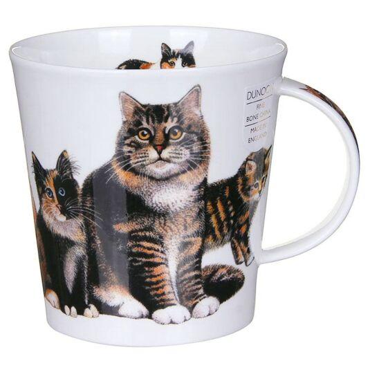 Cats & Kittens Tabby Cairngorm Shape Mug