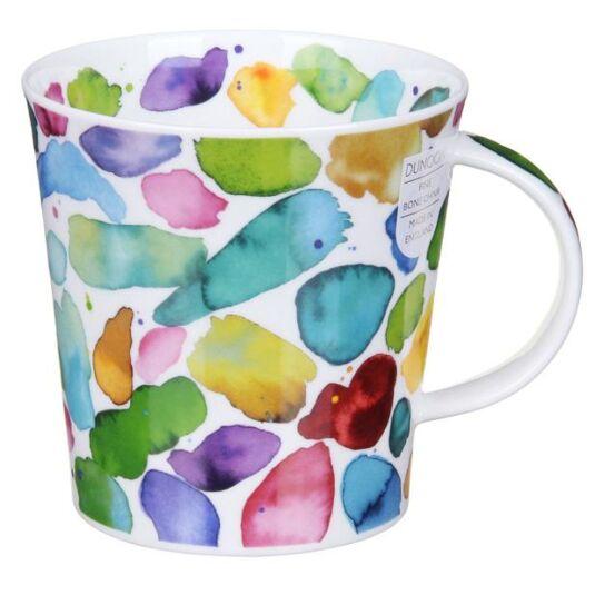Blobs! Green Cairngorm Shape Mug