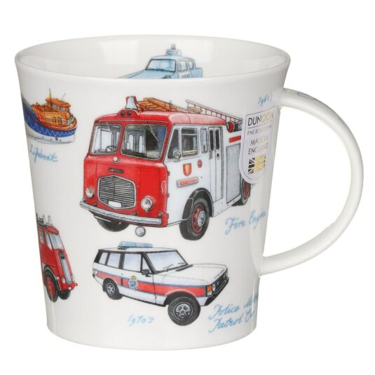 Emergency Services Cairngorm Shape Mug