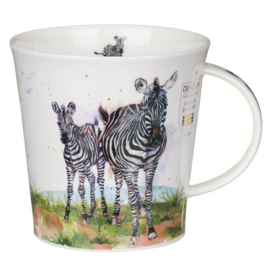 Serengeti Zebra Cairngorm Shape Mug