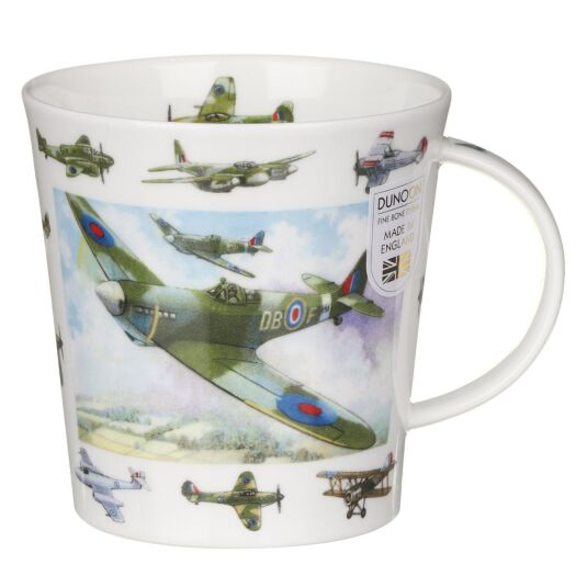 Vintage Collection Planes Cairngorm Shape Mug