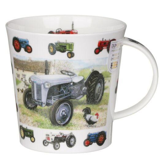 Vintage Collection Tractor Cairngorm Shape Mug