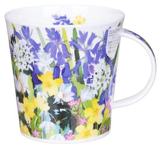 Country Flowers Bluebell Cairngorm Shape Mug