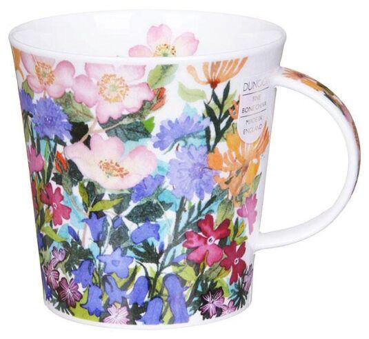 Country Flowers Rose Cairngorm Shape Mug