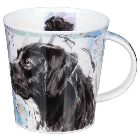 Dogs on Canvas Labrador Cairngorm Shape Mug