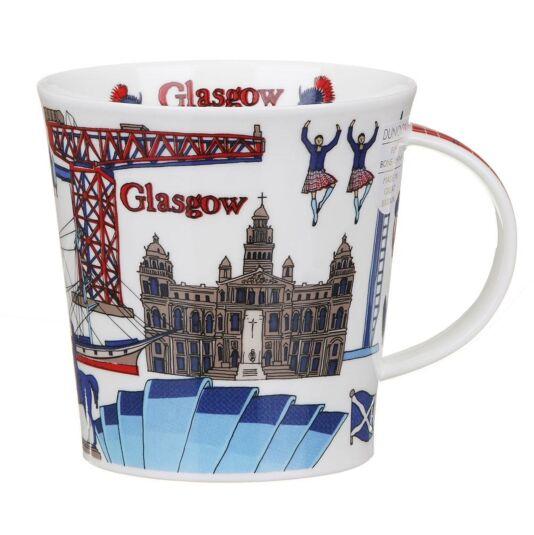 Glasgow Cairngorm Shape Mug