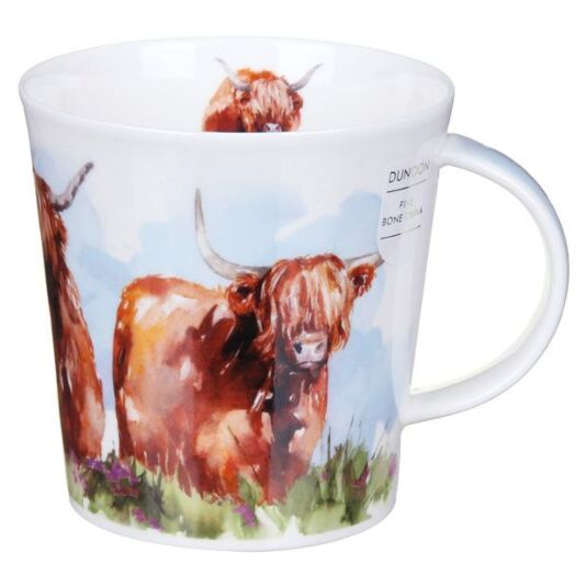 Highland Cows Cairngorm Shape Mug