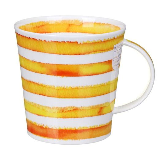Hoopla Yellow Cairngorm Shape Mug