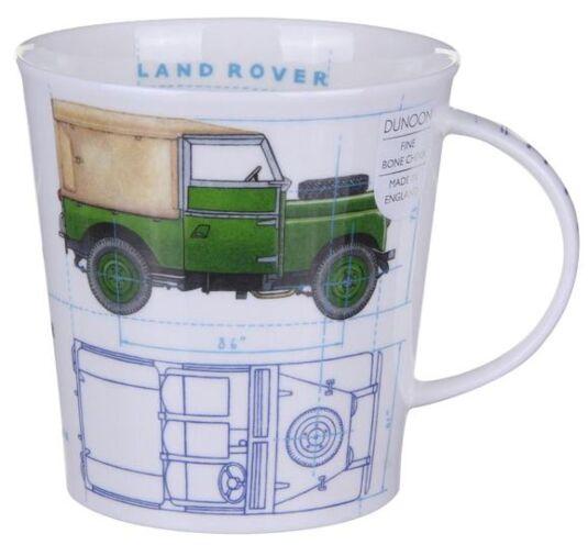 Iconic Transport Land Rover Cairngorm shape Mug