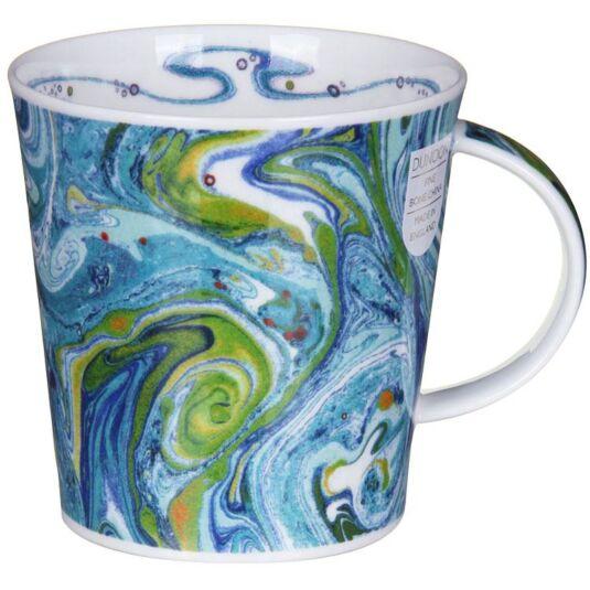 Magma Green Cairngorm Shape Mug