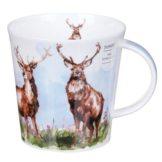 Monarch of the Glen Cairngorm Shape Mug