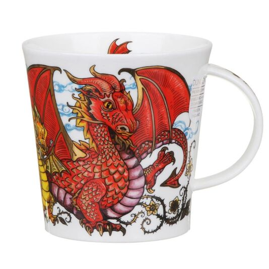 Mythicos Dragon Cairngorm Shape Mug