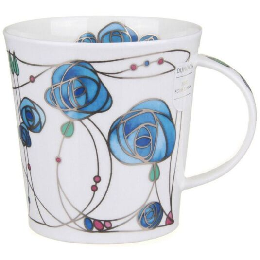 Renfrew - Blue Cairngorm shape Mug