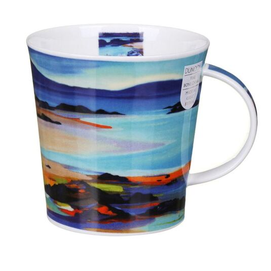 Restful Shores Mountains Cairngorm Shape Mug