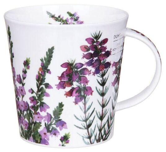 Scottish Heathers Cairngorm Shape Mug