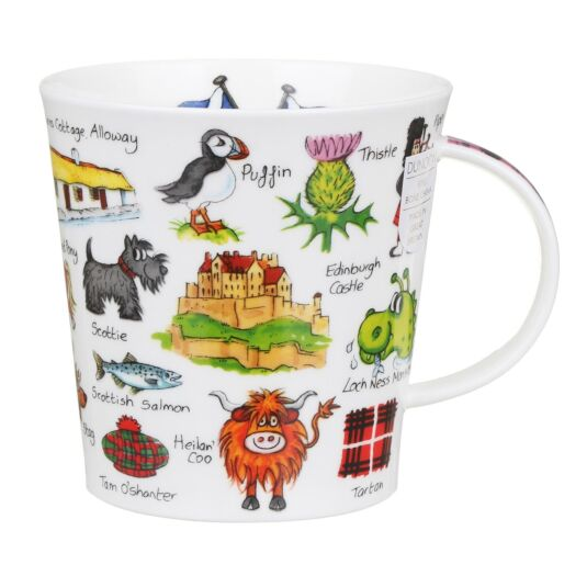 Simply Scotland Cairngorm Shape Mug