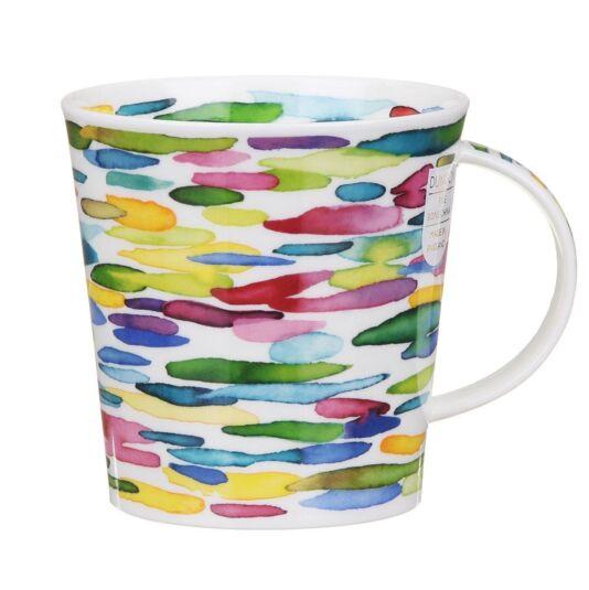 Slapdash! Green Cairngorm Shape Mug