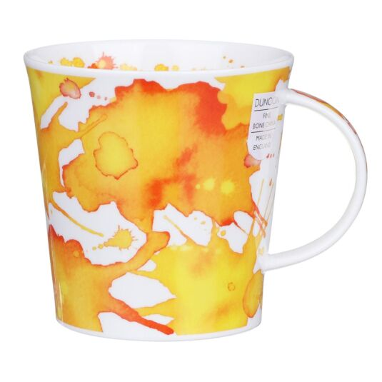 Splosh! Yellow Cairngorm Shape Mug