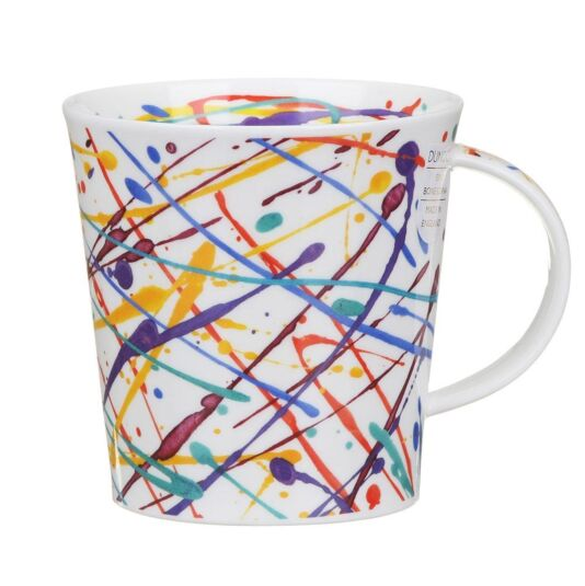 Squiggle Purple Cairngorm Shape Mug
